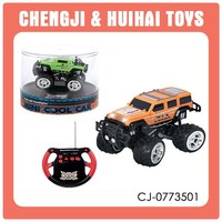 Battery powered small 4ch rc mini toy cars wholesale radio control toy set for kid