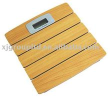 Bathroom wooden scale