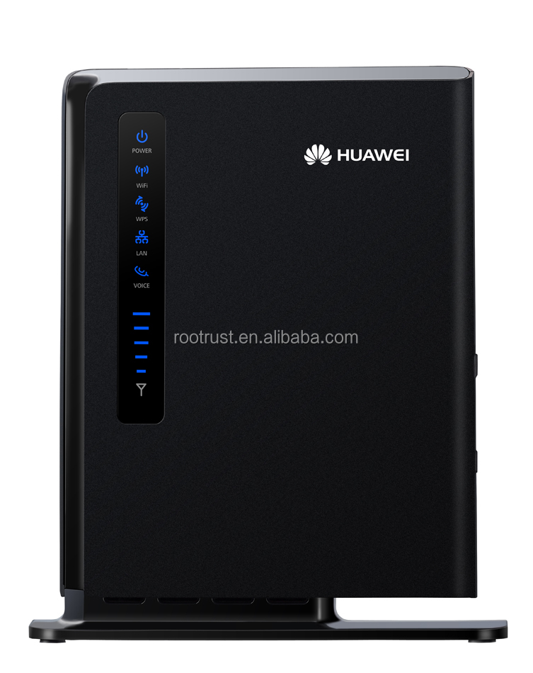 Unlocked Huawei E5172 LTE/4G Mobile WiFi Wireless Router Hotspot- 150 Mbps Black