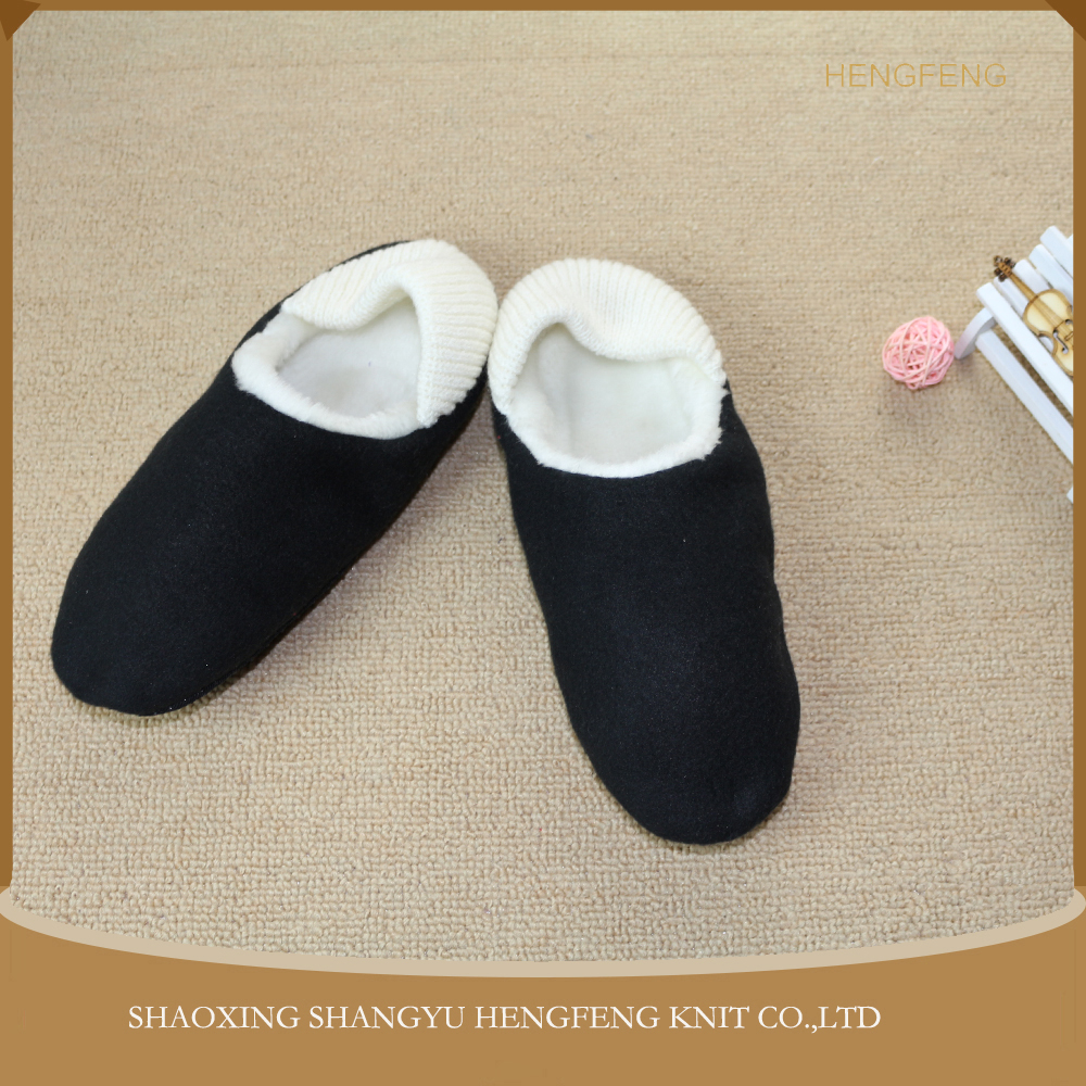 keep warm winter warm indoor cotton slippers, comfortable skidproof home slippers for man