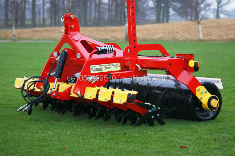 Carrier Turf Sweden - Fairway, turf and sports field aerator machine.