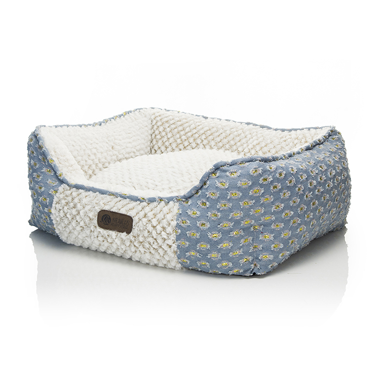 Hot selling wholesale luxury middle dogs pet bed crib
