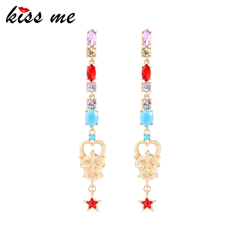 ed00520c Online Gold Earrings Design, Wholesale Colors Stone Plant Earrings Jewelry