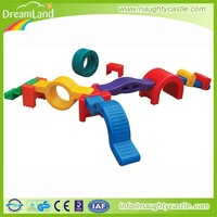 Children Professional Competition Outdoor GymnasticTraining Plastic Foam Toy Balance Beam For Sale