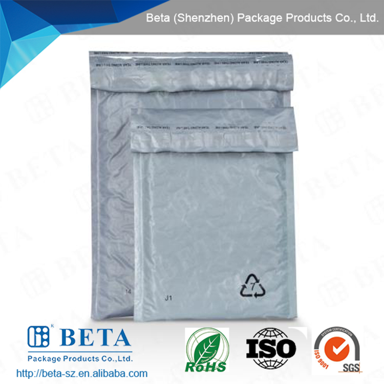 Customized Courier Poly Bag With Adhesive Seal Express Post Poly Bubble Mailer