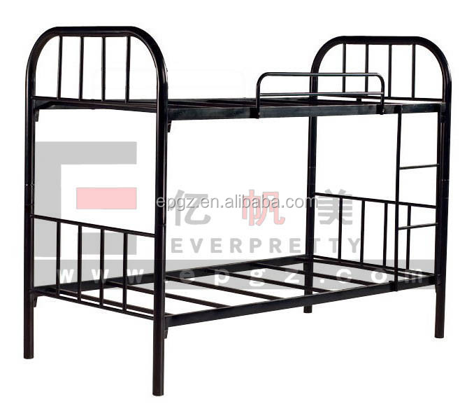 Cheap stable bunk bed frames, metal tube bed frame, double bed design furniture