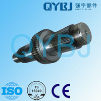 Exporting grade transmission parts front drive shaft , Sinotruk /Auman /Steyr brand autoparts tricycle axle