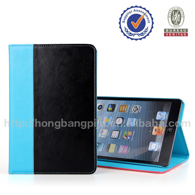 newest style leather case for ipad