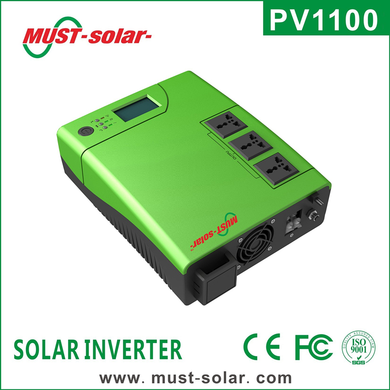 <Must Solar> PV1100 plus series High frequency off grid dc to ac power inverter solar power system with solar charger