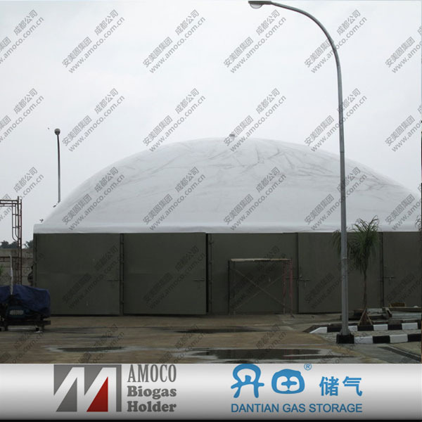Fermentation Tank With Membrane Roof/Gas Storage Tanks For Biogas Projects