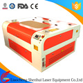 SH-G690 Laser engraving cutting machine for making shoes leather PU