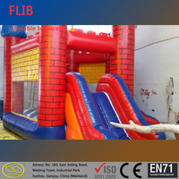 Customized size mini indoor outdoor inflatable bouncer castle inflatable jumper