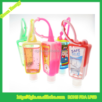 wholesale bath and body works products silicone antibacterial gel hand sanitizer holders