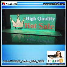 Waterproof Full color P10-64x192RGB 1 Sides RS232 Serial Communication LED sign board display screenn panel
