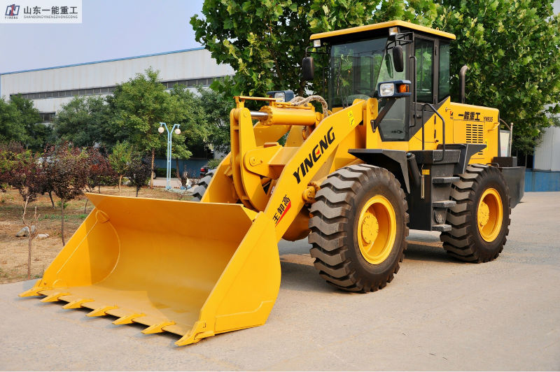 1.7CBM 3TZL30 Wheel loader OEM supplier YN935 SHAN DONG Yineng Luneng machinery LN YN CE ISO Ghost SGS APPROVED