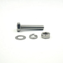 High Specification Stainless Steel M20 DIN933 Hex Bolt