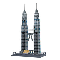 Educational Cheap Promotional Items For Kids Of Petronas Twin Towers