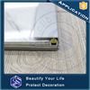 Flexible transition strips metal T shape aluminum flooring transition profiles