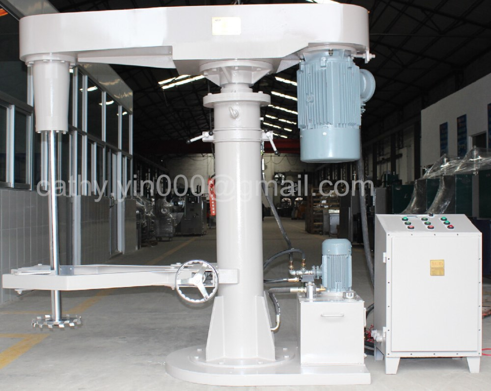 Fully explosion proof 4kw-75kw single/double shaft high speed mixer