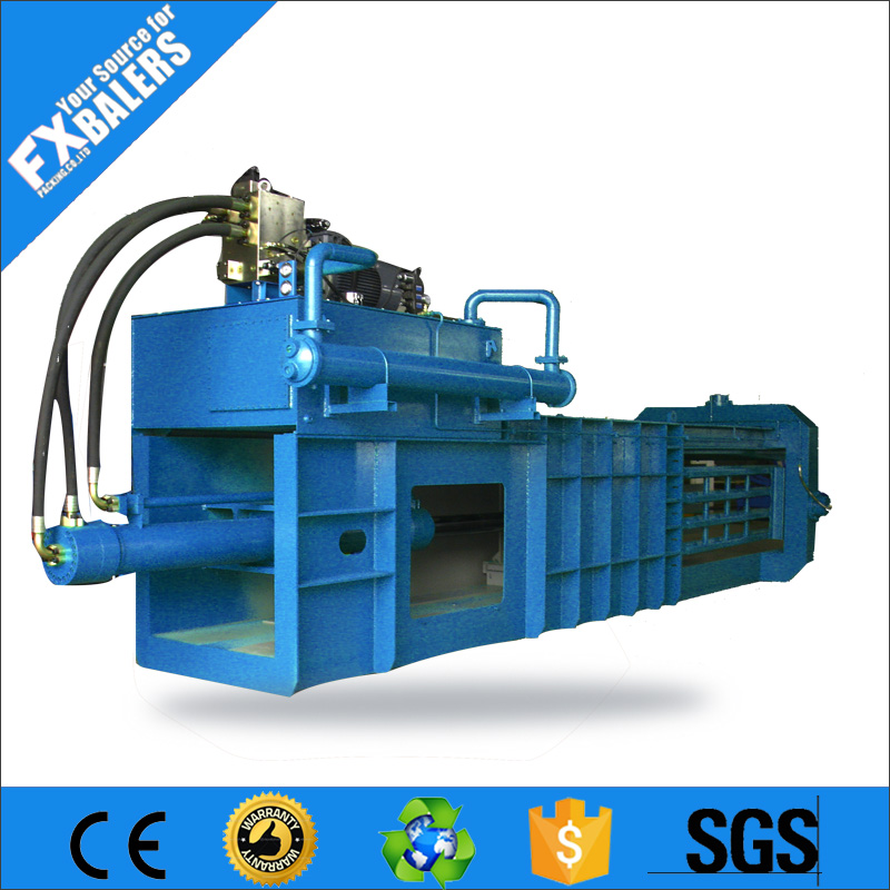 Metal cans recycling press machine