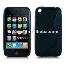Hot Crystal Clear TPU Case for Apple's iphone 3G 3GS in Stock