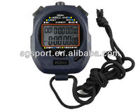 2-row digital stopwatch sport watch countdown timer 10 laps SGP2810