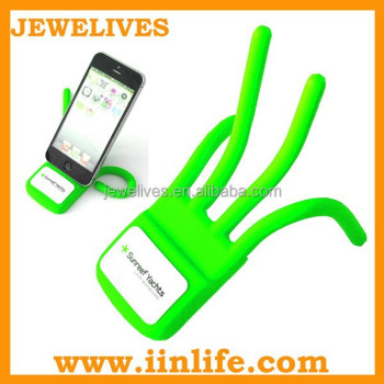 New gift giveaways ideas silicone cute phone holder