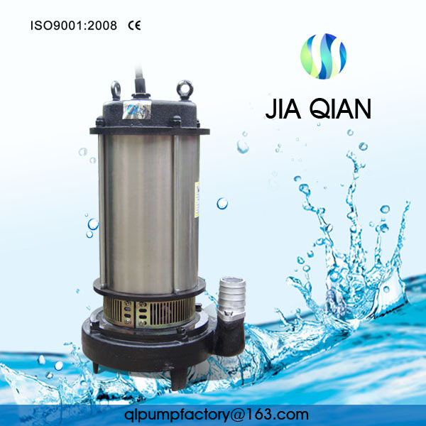 Non-clogging 3hp Submersible Water Pump