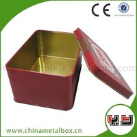 New Design Food Grade High Quality Iron Box With Lock