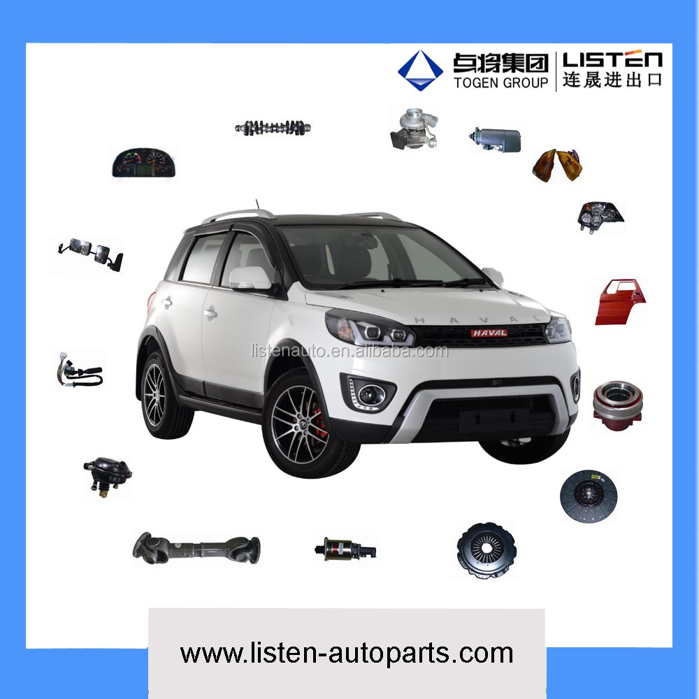 genuine spare parts for Great Wall Haval H2 H3 H5 H6 H7 H8 H9 M1 M2 M4