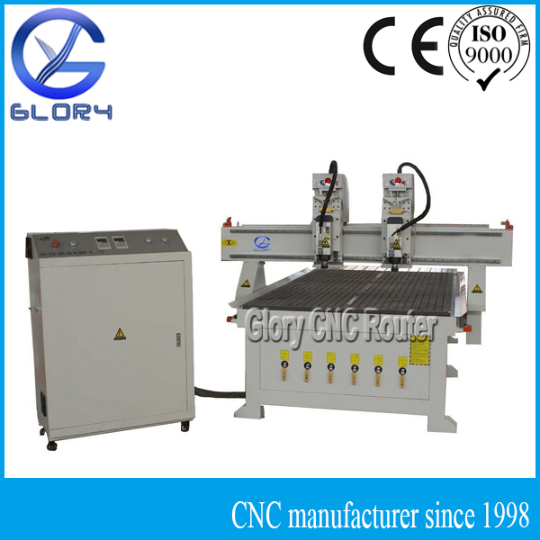 Double Head CNC Router Machine for Panel Door
