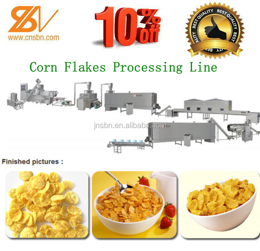 High Quality Automatic Corn Flakes Production Line
