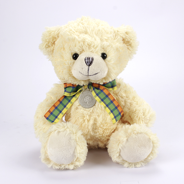 Plush White Toy Teddy Bear for Crane Machine toys factory price