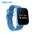 2017 APPSCOMM Smart Watch GPS Positioning Children Wristwatch Kids Safety Tracker with Phone Calling Function for Android or IOS
