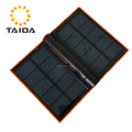 High Quality Mobile Phone Solar Charger 5000mAH Waterproof Solar Power Bank