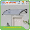 60 cm Powder coated PPO support Pet nest awning waterproof clear plastic gazebo door awnings lowes