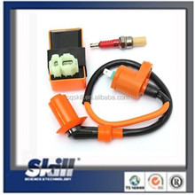 Motorcycle Racing AC CDI Ignition Coil Spark Plug For GY6 50-150cc 139QMB 152QMI
