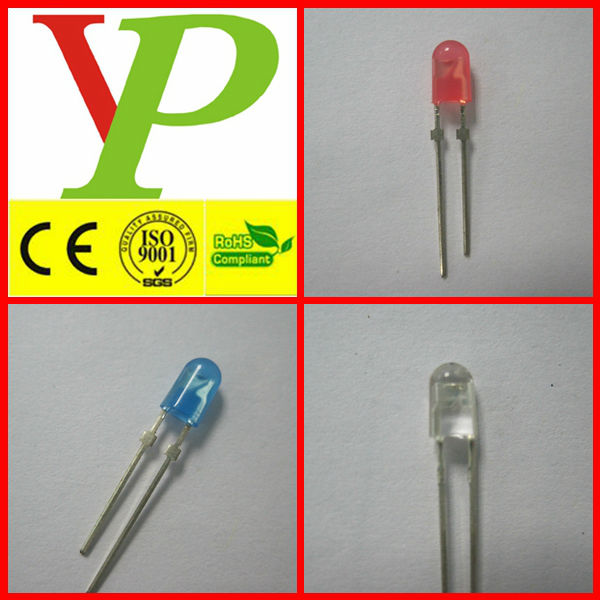 Blue white green led diode 3v