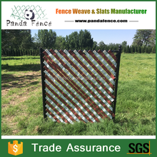 new design plastic privacy screen fence pvc strips