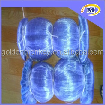 Finland 50md 100% PA6 nylon monofilament fishing net