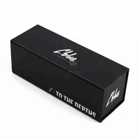 High End And China Factory Price Custom Matte Black Drawer Gift Box Designer Sliding Drawer Box With Die Cut