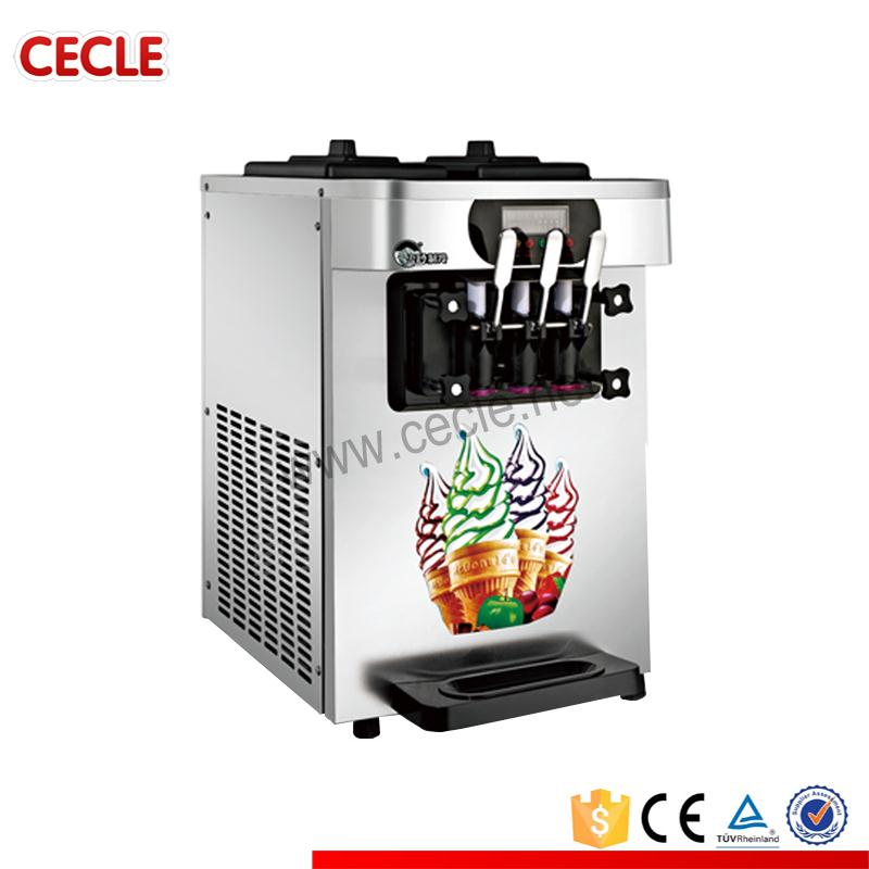 CE approved top sell soft server ice cream machinery