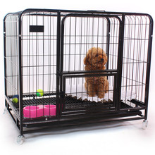 china supply wholesale indoor 36 42 48 cheap metal wire pink dog cage
