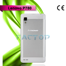 Lenovo P780 Android 4.2 3G TK6589 Quad Core 5.0 Inch HD IPS Phone 4GB White