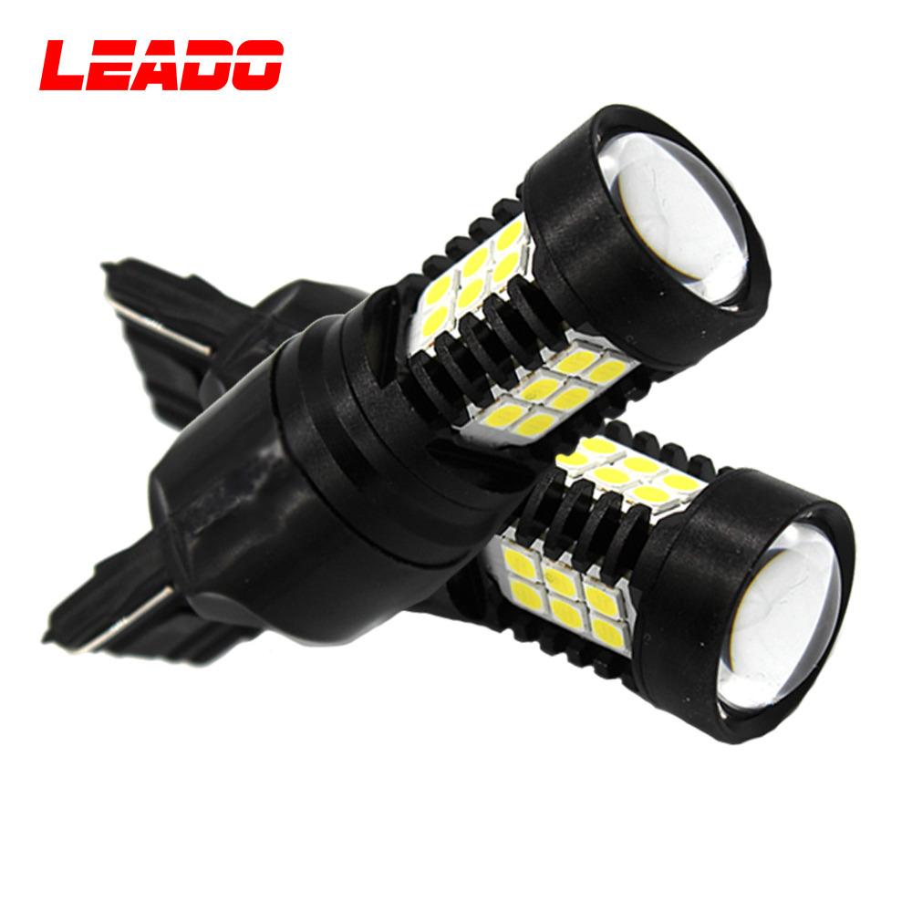 Car back up light 3030 SMD chip 3156 T20 7440 led turn light bulb for bike motorcycle