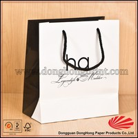 High quality factory offer recyclable guess paper bag