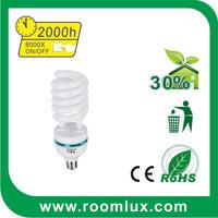 Cheap price Half Spiral E27 fluorescent energy saving bulb