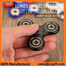 High speed OEM hand finger spinner mini colorful quick fidget spinner