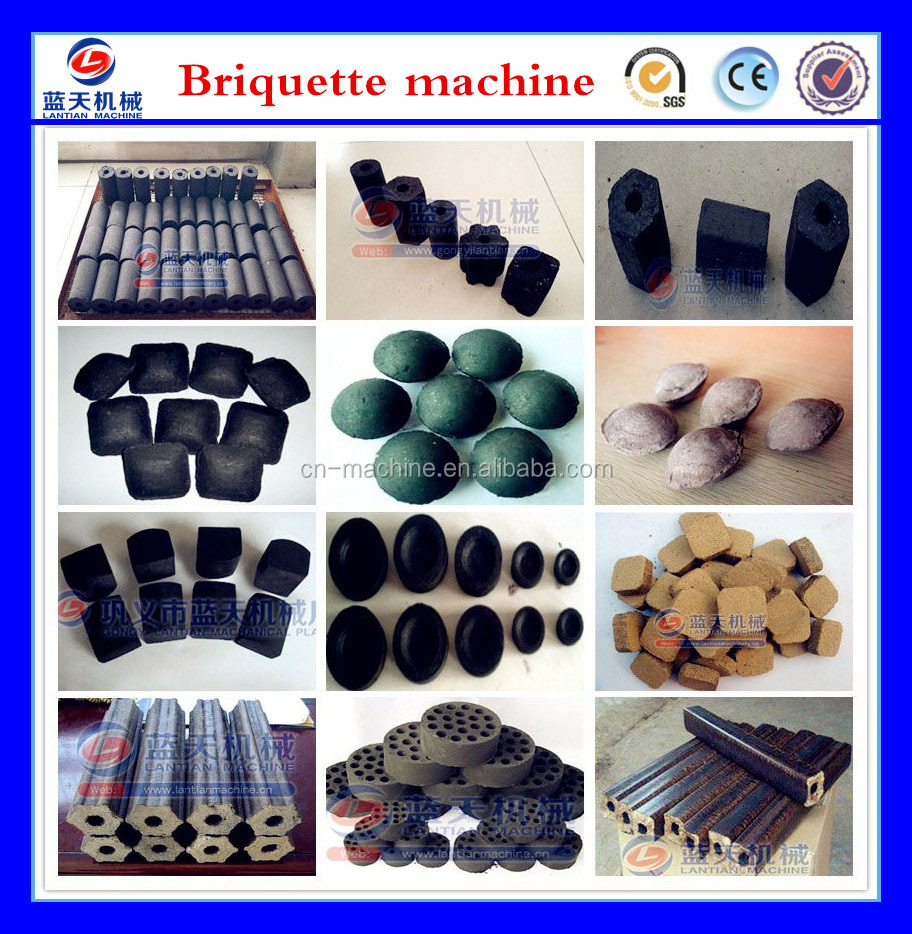 30 years Small Coconut Shell Charcoal Briquette Making Machine