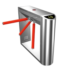 China Manufacturer Offers Drop-arm Tripod Turnstiles/ Coin Operated Turnstiles With Reliable Entrance Solution